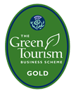 Green Tourism Gold Award logo - Go to the Green Tourism website (opens in a new window)