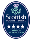 Scottish Tourist Board 4 Star Visitor Attraction logo - Go to the Visit Scotland website (opens in a new window)